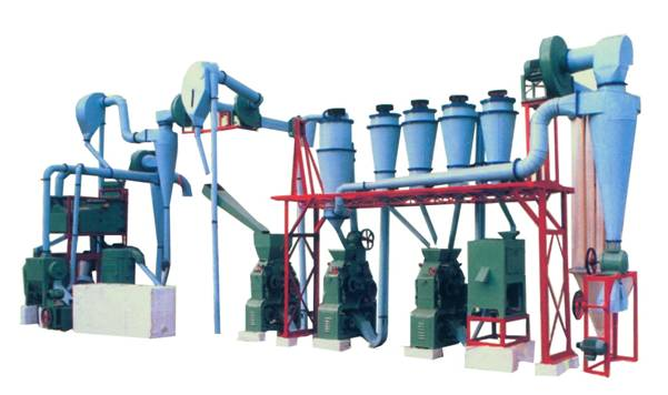20T small scale flour milling