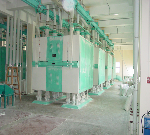 500t wheat flour mill machinery