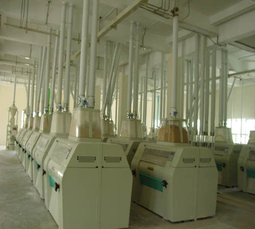 500t wheat flour mills